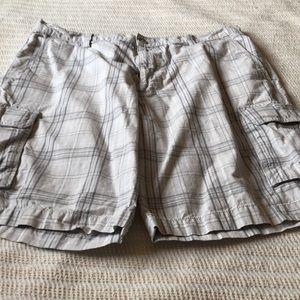 Men's Dockers shorts.